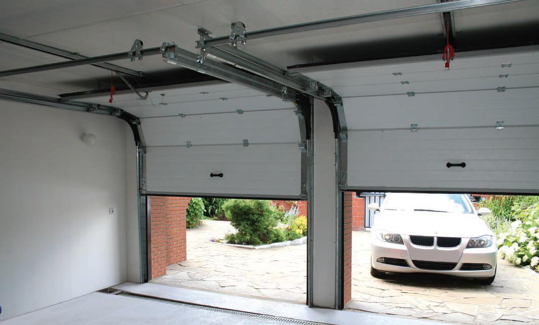 Купить секционные ворота для гаража