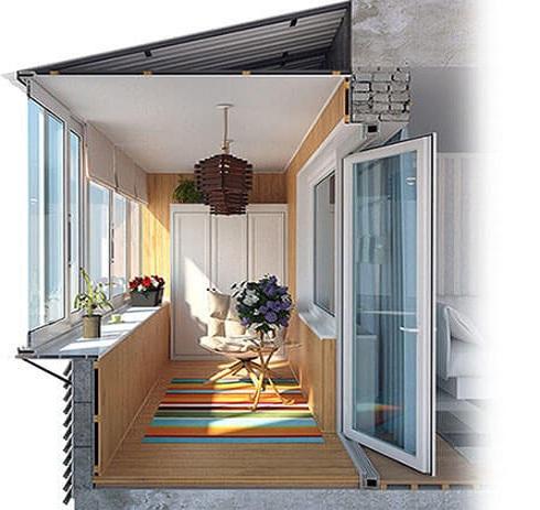 Отделка балконов в томске под ключ скидки 30.