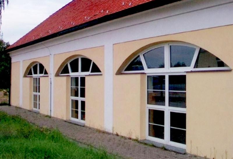 арочные окна пвх