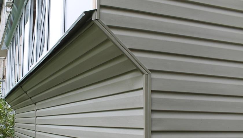Обшивка балконов сайдингом в киеве. отделка балкона снаружи .