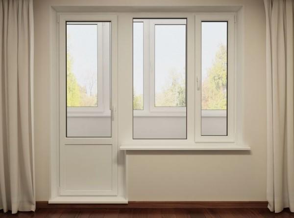 Балконные двери цена