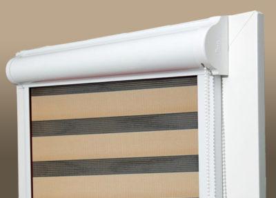 Как устроены рулонные шторы закрытого типа