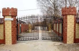 Металлические ворота купить