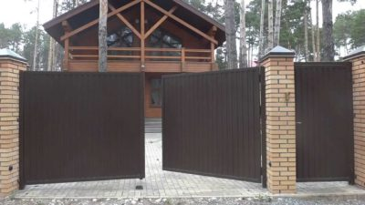 Купить распашные ворота