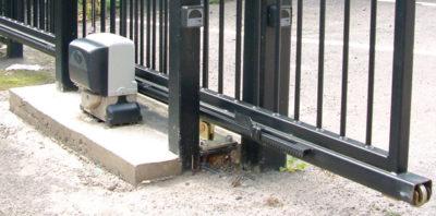 ворота с электроприводом